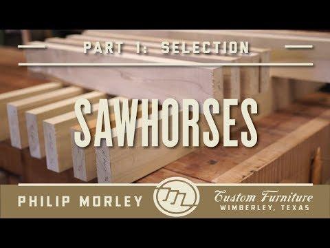 James Krenov Style Sawhorses | Part 1 - Part Selection