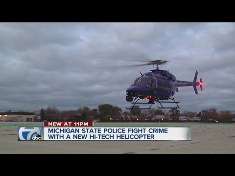 New Michigan State Police helicopter