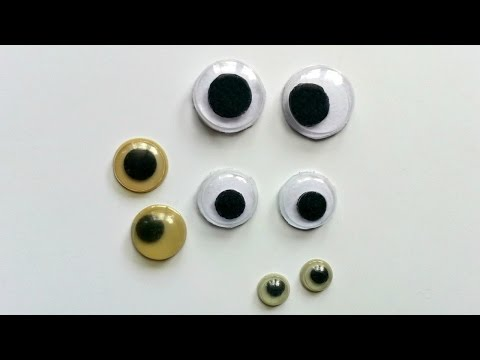 How To Create Fun Recycled Googly Eyes - DIY Crafts Tutorial - Guidecentral