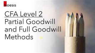 CFA Level 2 | FRA: Partial Goodwill and Full Goodwill Method