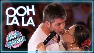LOVE IS IN THE AIR | Judges & Contestants Get Flirty on America