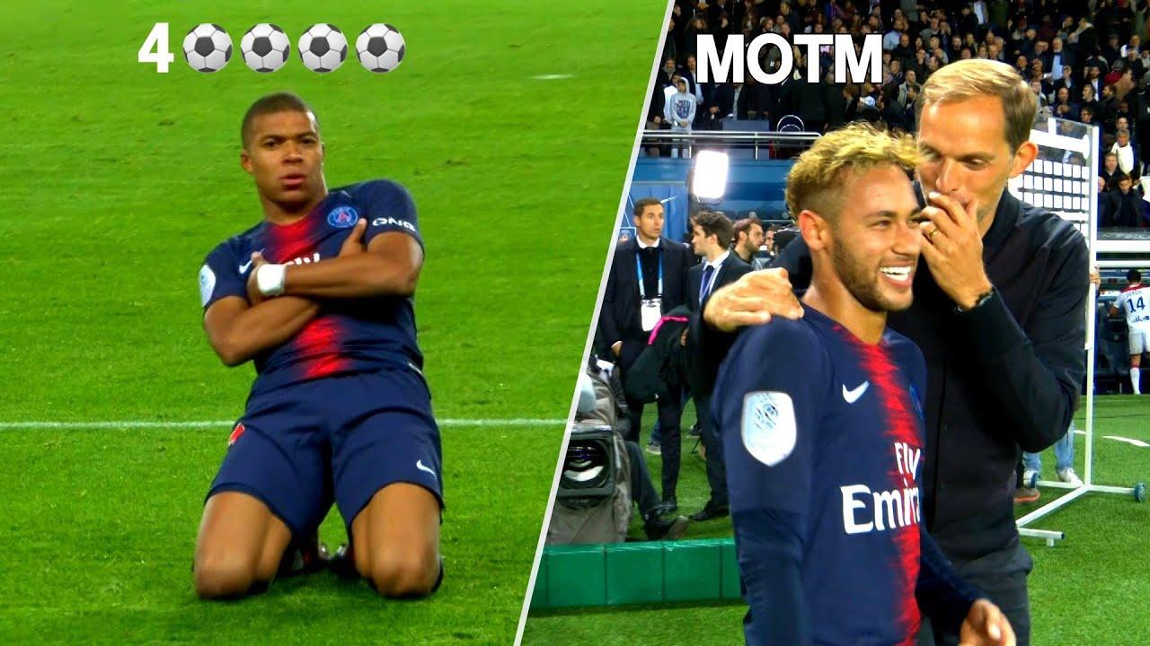 The Day Mbappé Scored 4 Goals But Neymar Played Better