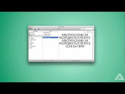 How To: Download Fonts in Mac OS X (And get free fonts)