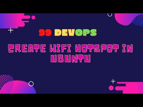 Create Wifi Hotspot in ubuntu [ 100 % working ]