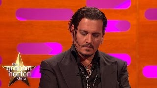 Johnny Depp Gets Emotional Talking His Daughter