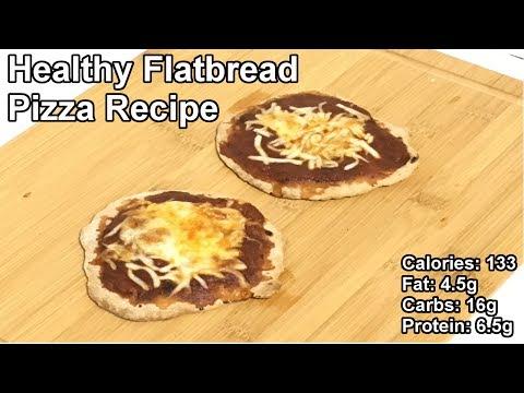 Healthy Flatbread Pizza Recipe | Easy Healthy Recipes