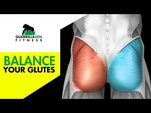 How To Balance Your Glutes | When ONE glute won't turn on!