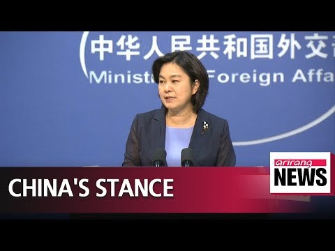 China supports contacts between North Korea-U.S. to achieve denuclearization