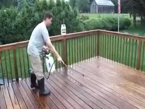 renovating deck 2 paint stripper wood brightener removing coating sanding which materials to use