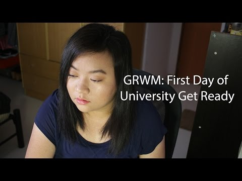 GRWM: First Day of University Get Ready
