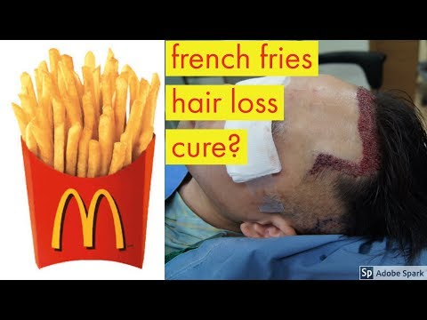 MCDONALD'S FRENCH FRIES CAN REGROW HAIR?!