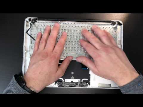 How to replace keyboard on MacBook Pro A1502