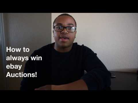 How to always win eBay Auctions!