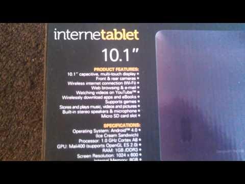 Polaroid Tablet Box Opening
