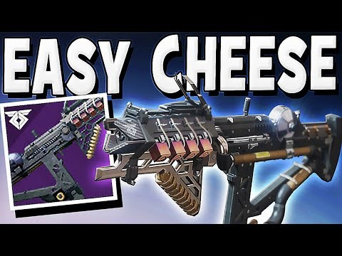 Destiny 2 - EASY CHEESE LEVEL 7 ESCALATION PROTOCOL BOSS !!