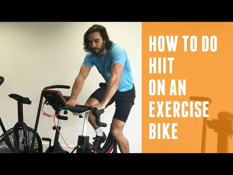 How To Do A HIIT On An Exercise Bike | The Body Coach