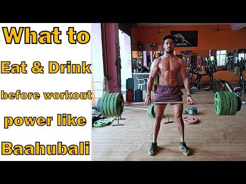 Best pre workout Meal and Drink for Power Stamina Energy ! bodybuilding tips