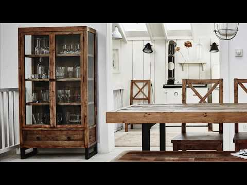Standford Industrial Reclaimed Wood Dining | Modish Living