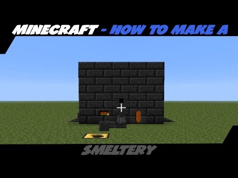 How To Make A Smeltery (Modded Minecraft) (Tinkers Construct) (TUTORIAL)