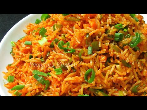 Veg Schezwan Fried Rice Recipe - Quick Schezwan Fried Rice Recipe in Hindi - Chinese Schezwan Rice
