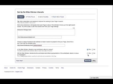 How to Make a Facebook Band Page