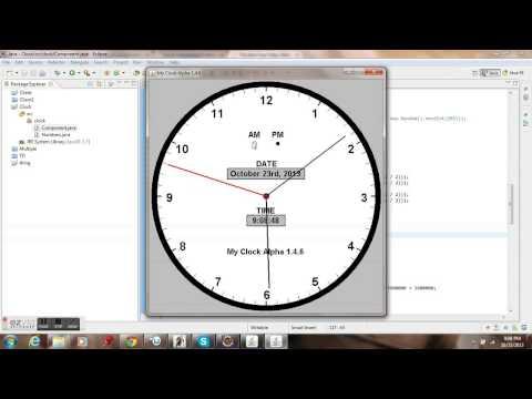 Analog/Digital Clock Update