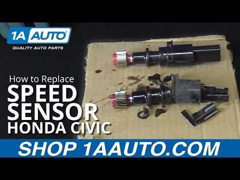 How to Install Replace Speed Sensor 2001-05 Honda Civic