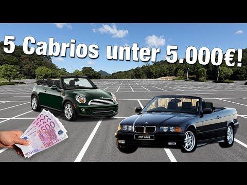 Cabrios für unter 5000€!