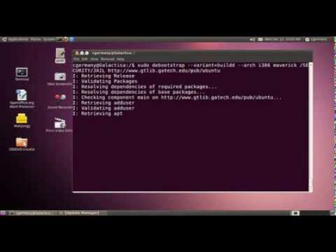 Creating and Using a CHROOT JAIL in Linux Ubuntu - Session 1