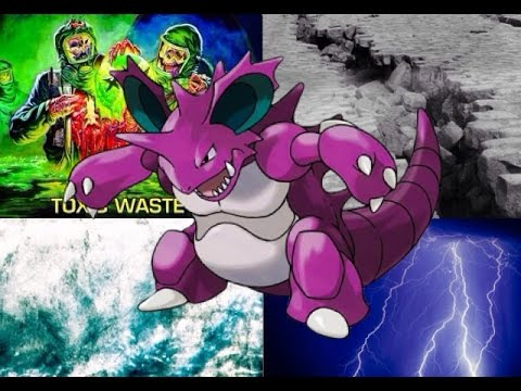 Pokemon X and Y Moveset: Wall Breaking Nidoking