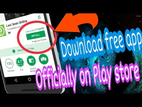 Officially download paid apps on Play store | No apk file | No pirated app | No root