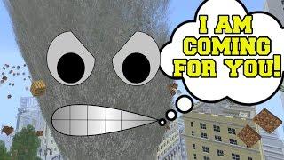 Minecraft: THE TALKING TORNADO - Custom Mod Dream