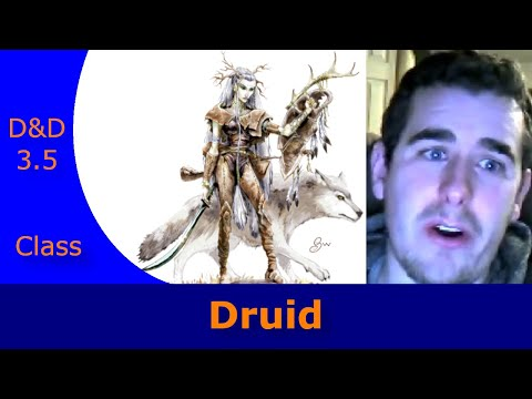 Dungeons and Dragons 3.5 Class Description - Druid