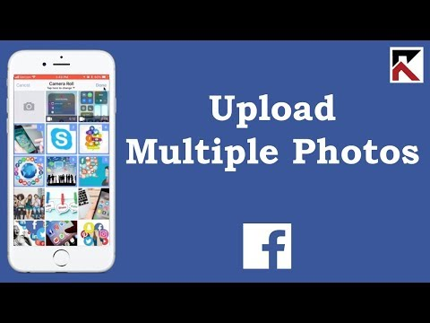 How To Upload Multiple Photos Facebook App iPhone