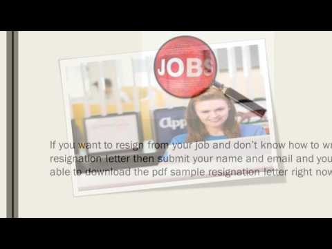 Professional Resignation Letter & Template