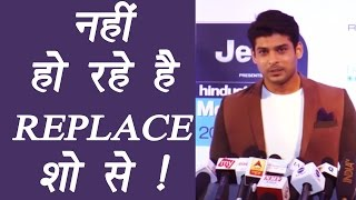 Dil Se Dil Tak actor Sidharth Shukla opens up on quitting the show; Watch video | FilmiBeat