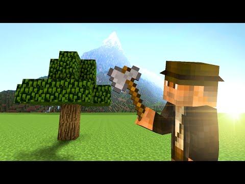 EXPLODING TREE TRAP! - Minecraft Tutorial