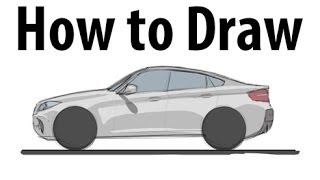 How To Draw A Bmw X6 M Sketch It Quick