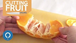 Peel an Orange the Easy Way - Amazing Hack
