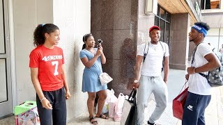 THEY MADE HER DAY SINGING TO HER!!! FT. AR'MON AND TREY