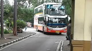 Bus Paling Sial? Sudah Telat, AC-nya Rusak Pula! Telolet Bus