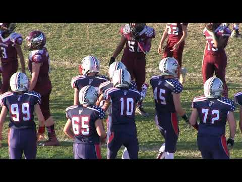 20171028 Golden Empire Youth Football: Juniors - Grant Meadors Touchdown Freedom v Ravens