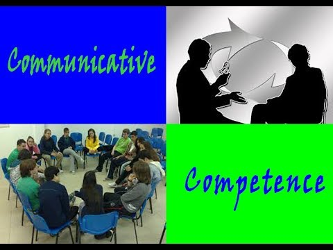 Communicative competence and the four types of knowledge for a successful communication