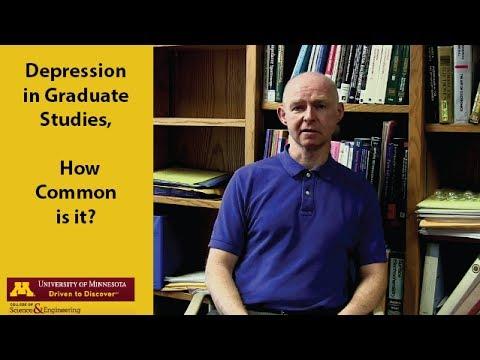 Depression in Graduate Studies-How common is it?
