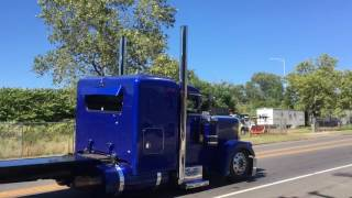 Nice Peterbilt Catching Gears
