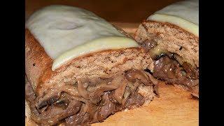 #x202b;طريقة تحضير ساندويش الستيك بالفطر مع تحضيرالخبز الاسمر سهل الهضم /شيف احمد Steak Sandwich#x202c;lrm;