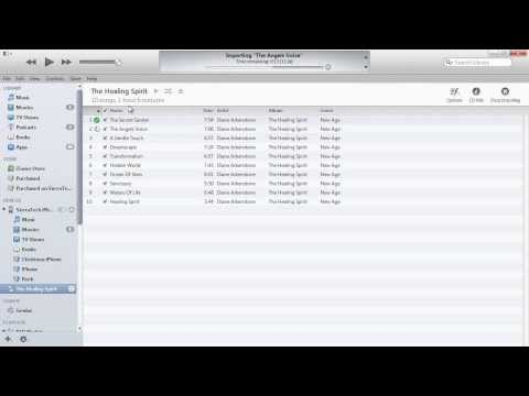 iTunes 11 How to Rip Copy CD Music Import into iTunes Library using high quality sound transfer PT1