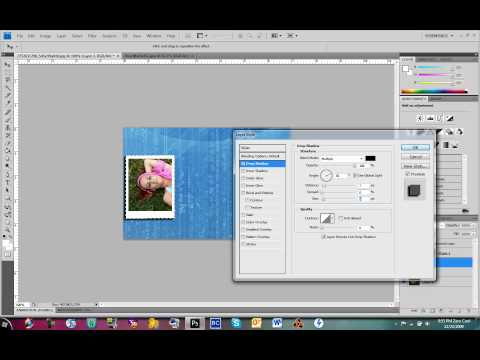 How To Make A Collage In Photoshop CS3/CS4
