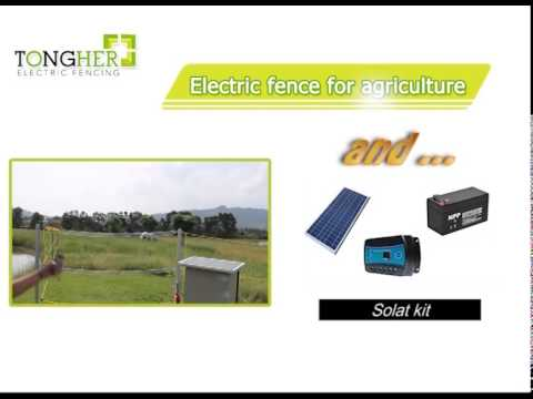 connect keypad to electric fence energizer