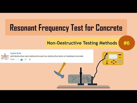 Resonant Frequency Test for Concrete || Non-Destructive Testing Methods (NDT) #6